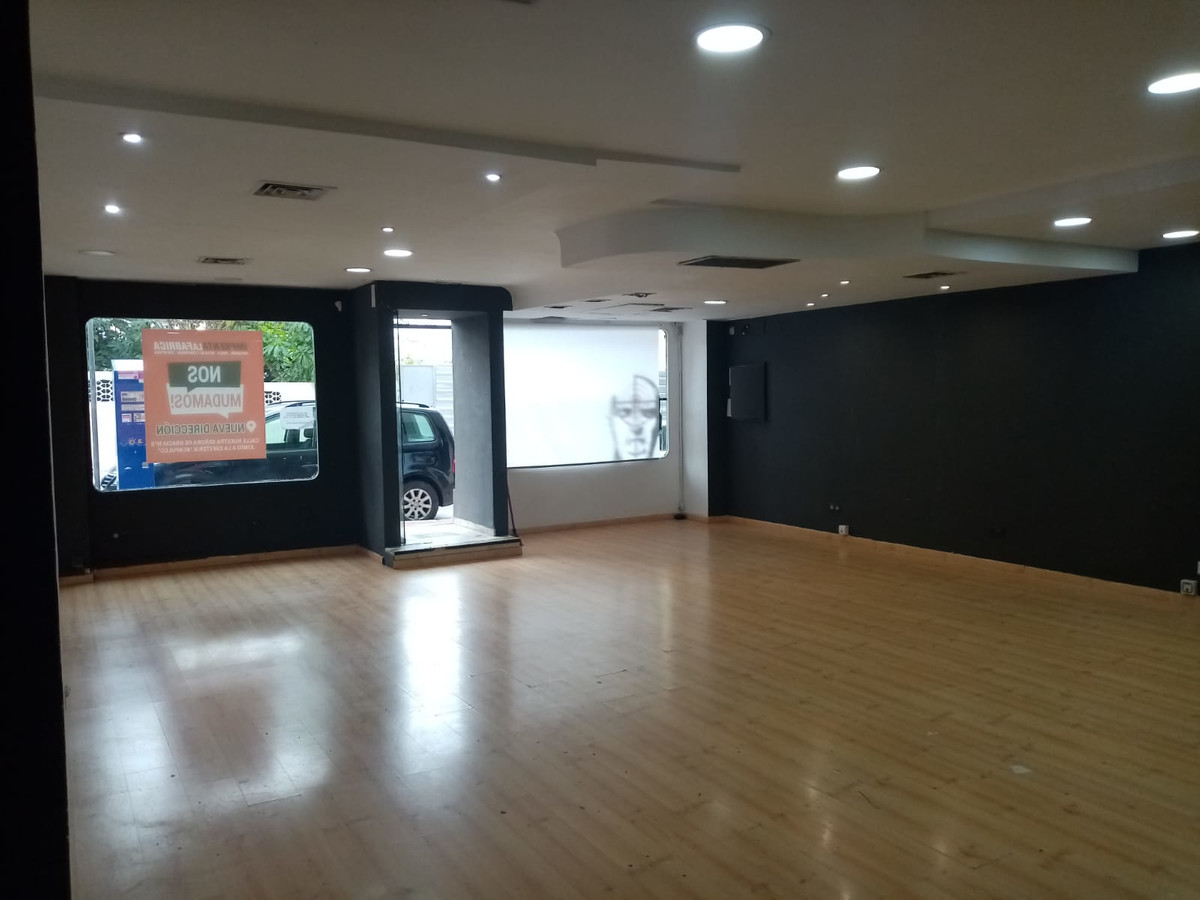 96 m2 commercial premises located in Marbella center on a street near the Goyo Cafeteria. The place ,Spain