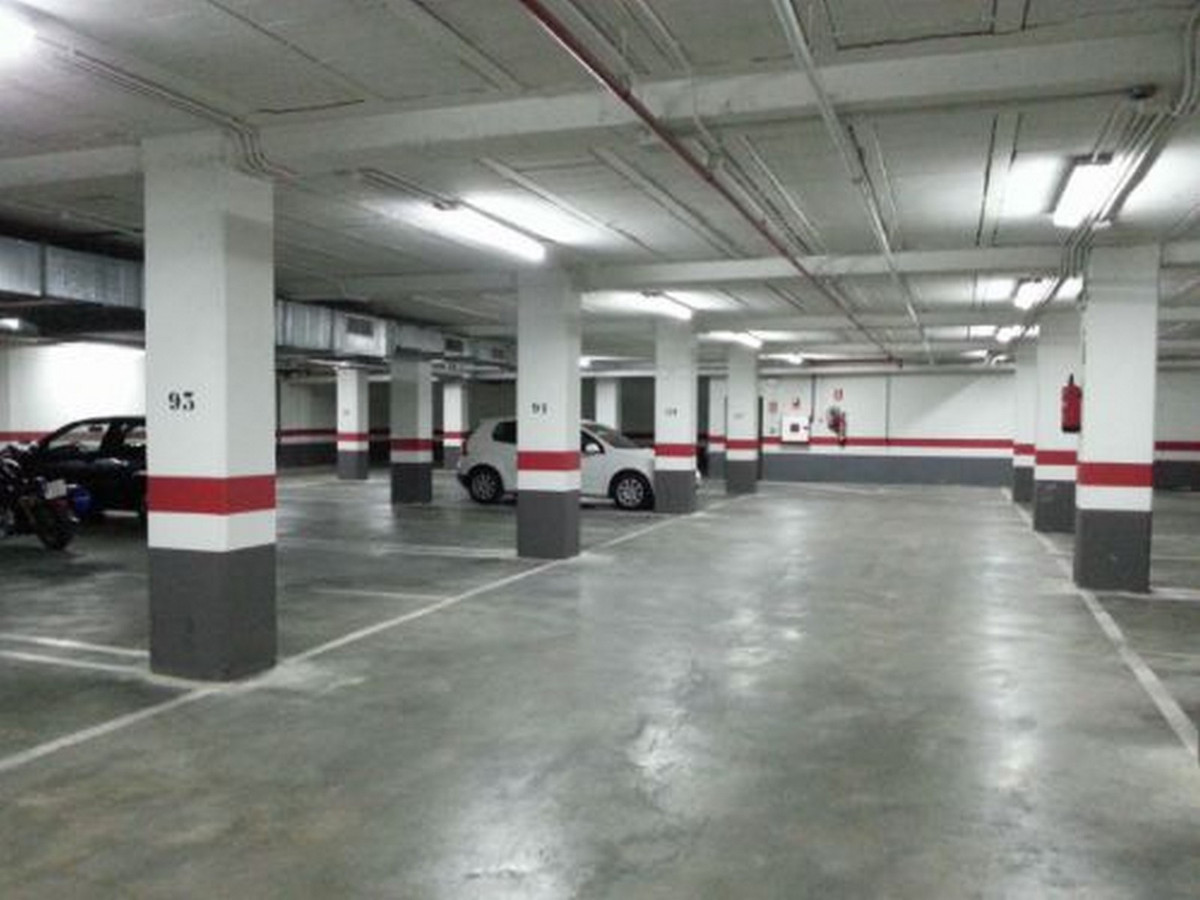 Large garage located in a building in the center of Marbella. The building has the main entrance by , Spain