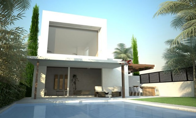 Las Villas de Mar Menor, 8 detached houses in separate plots in Mar de Cristal (Cartagena, Murcia), , Spain