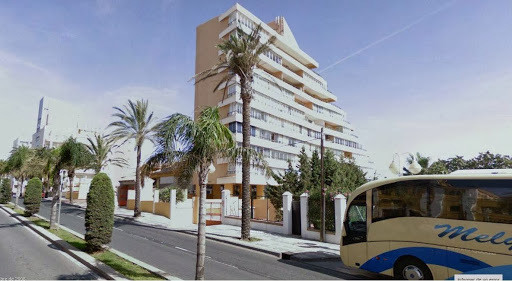 Frontline beach studio with direct access to the popular Santa Ana beach in Benalmadena Costa with t, Spain