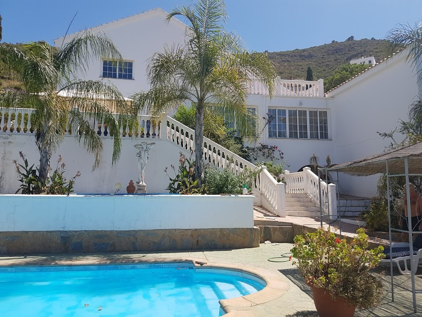A very impressive 7 bedroom 4 bathroom villa set in an elevated position with panoramic views to the,Spain