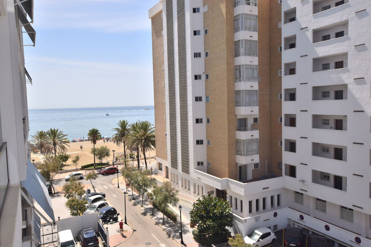 Beach front apartment located on the seafront of Fuengirola, Los Boliches *Lateral sea views* The pr,Spain