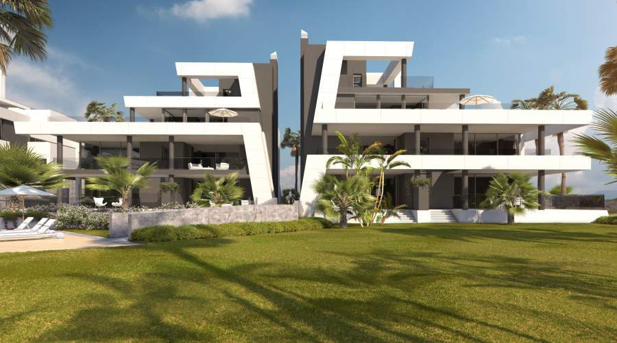 CONTEMPORARY APARTMENTS WITH PANORAMIC SEA VIEWS  Contemporary architecture in a setting of outstand,Spain