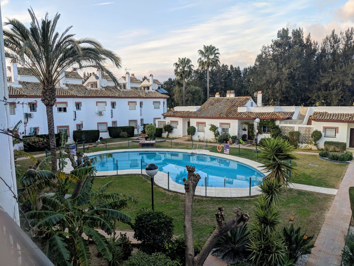 Beautiful apartment in the Urbanization Paraiso del Golf in Mijas Golf, Apartment on the first floor, Spain