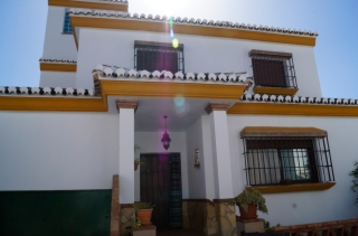 Pretty townhouse with pool situated in the hamlet Bermejo near the village of Alora.  Magnificent ho,Spain