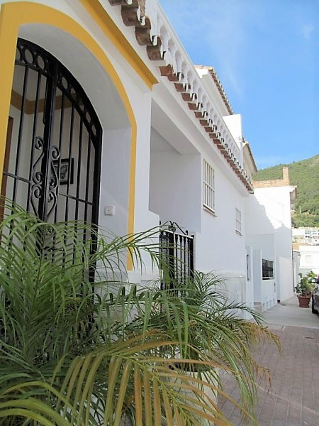 A charming Andalucian townhouse in the heart of the beautiful, white washed village of Ojen. From th,Spain