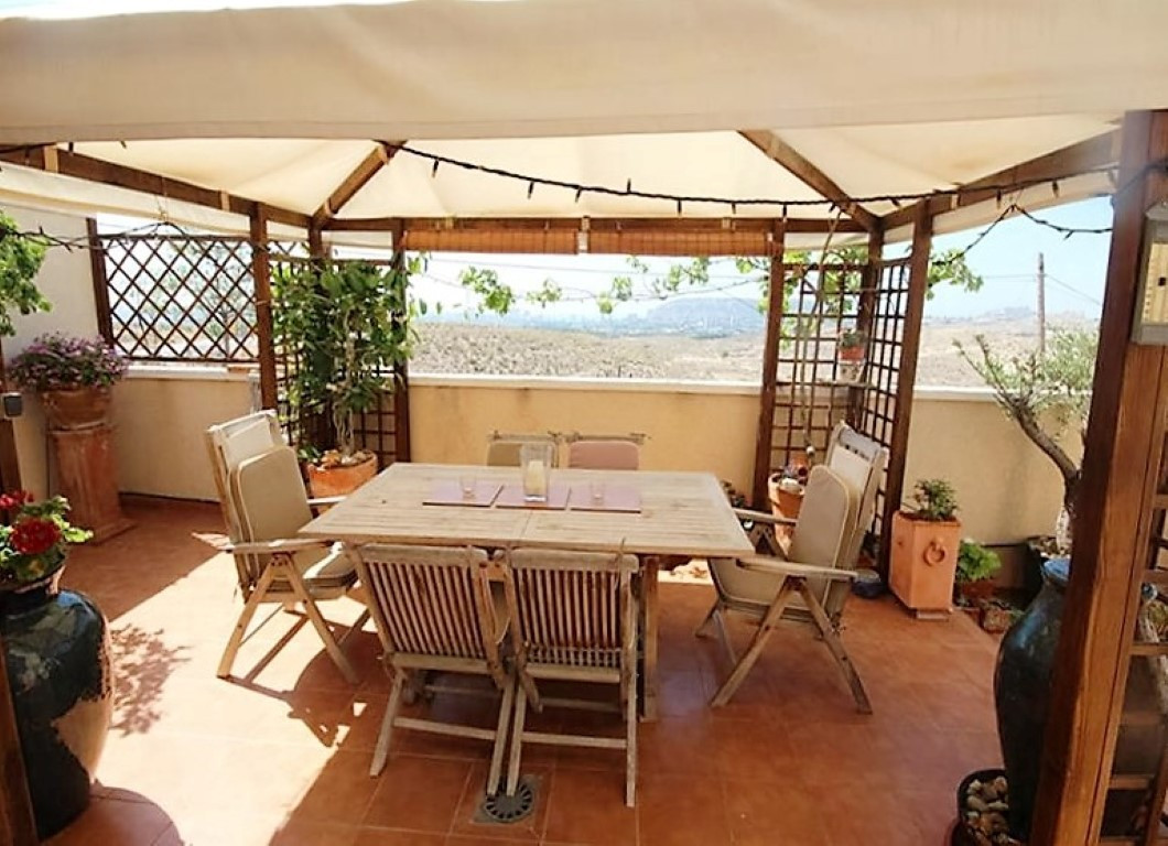 Enjoy an al fresco lunch on your large terrace overlooking the sea from one of the most exclusive re,Spain