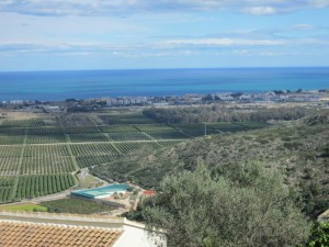 BRAND NEW MODERN 5 BEDROOM VILLA WITH PRIVATE POOL WITH STUNNING SEA VIEWS OVER THE COAST OF DENIA  ,Spain