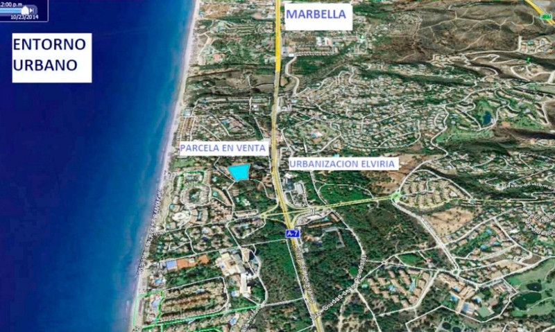 Fantastic opportunity to acquire a plot of 7,260 m2 in Elviria (Marbella), one of the best areas on ,Spain