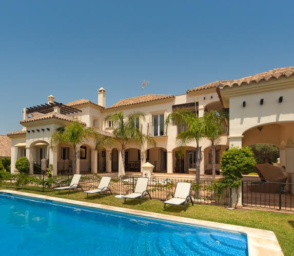 A beautiful second line villa in the exclusive Urbanisation Bahia de Marbella  Lovely Andalucian sty,Spain