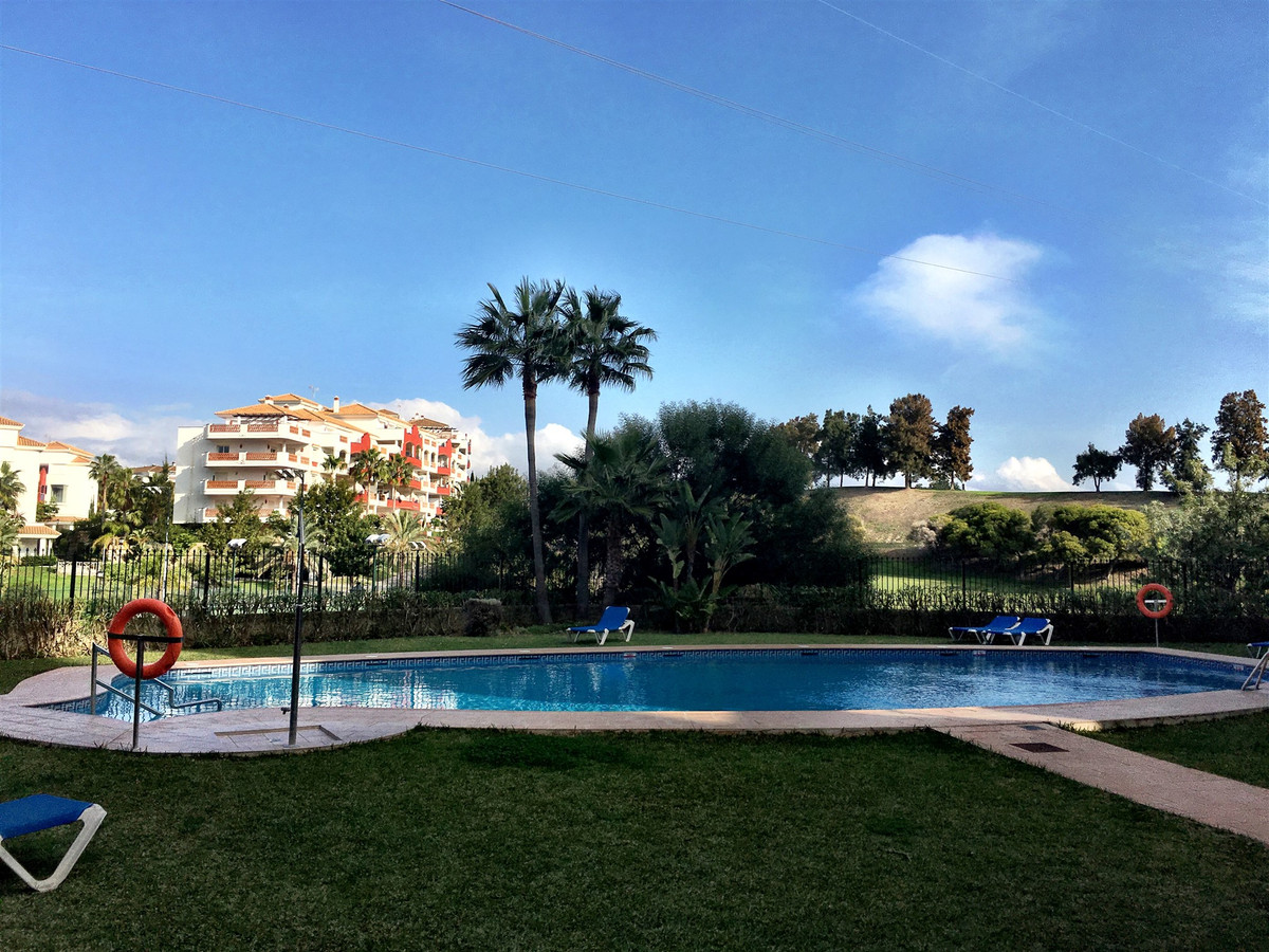 A west facing apartment with stunning views to the golf course and Mediterranean Sea beyond. It come,Spain