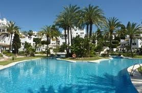 Spacious and bright 3 bedroom, 3 bathroom apartment in a Mediterranean village style complex with sp, Spain