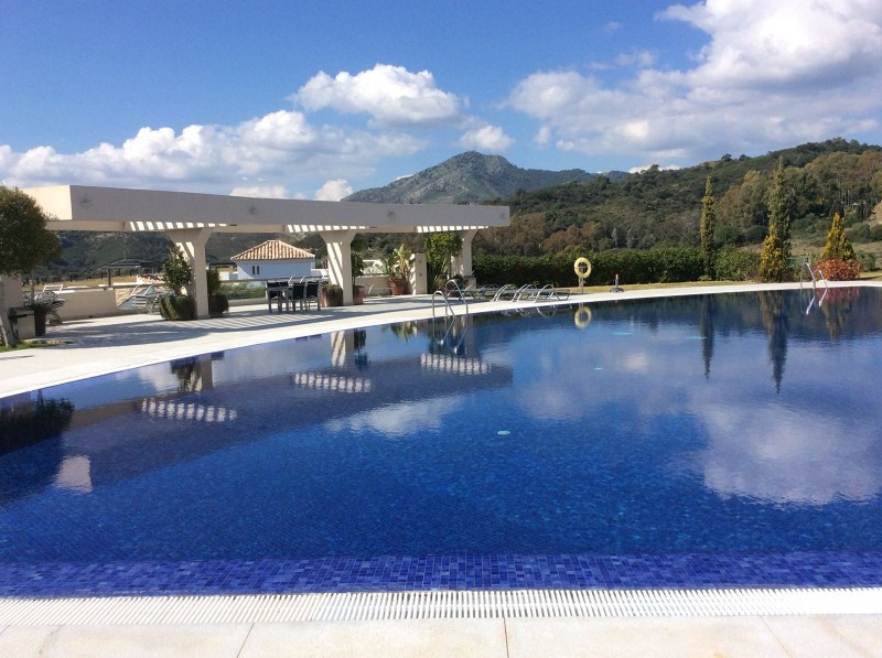 "This two bed two bath groundfloor apartment is located in ""LOS ARRAYANES GOLF"" , a residential compl, Spain"