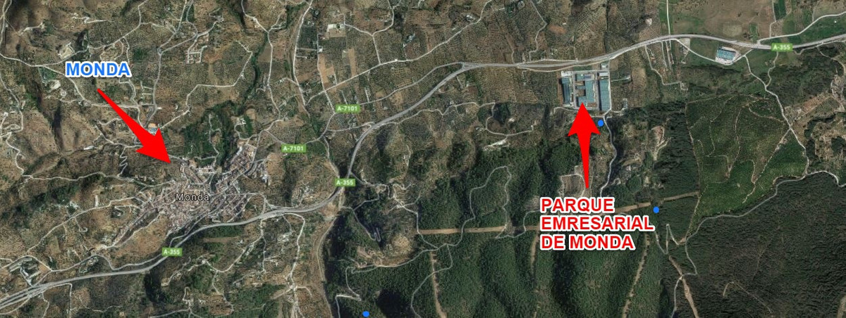 Great plot in the business park of Monda 15 minutes from Marbella and 45 minutes from Malaga and sur,Spain