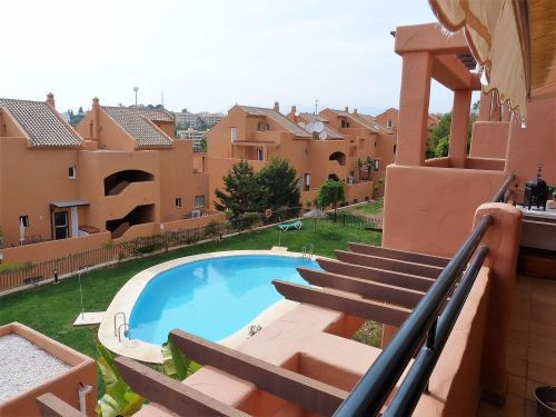 Charming 1 bedroom flat located in Lagos de Sta. Maria Golf, close to the golf courses with sea and ,Spain