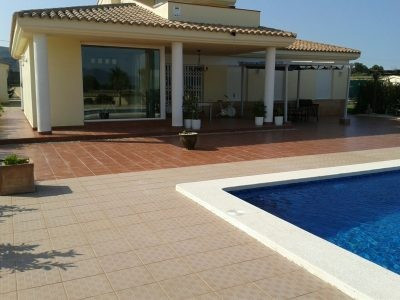 A very well built villa on the outskirts of L'Olleria of approximately 250m2 on a plot of 8965m2, Spain
