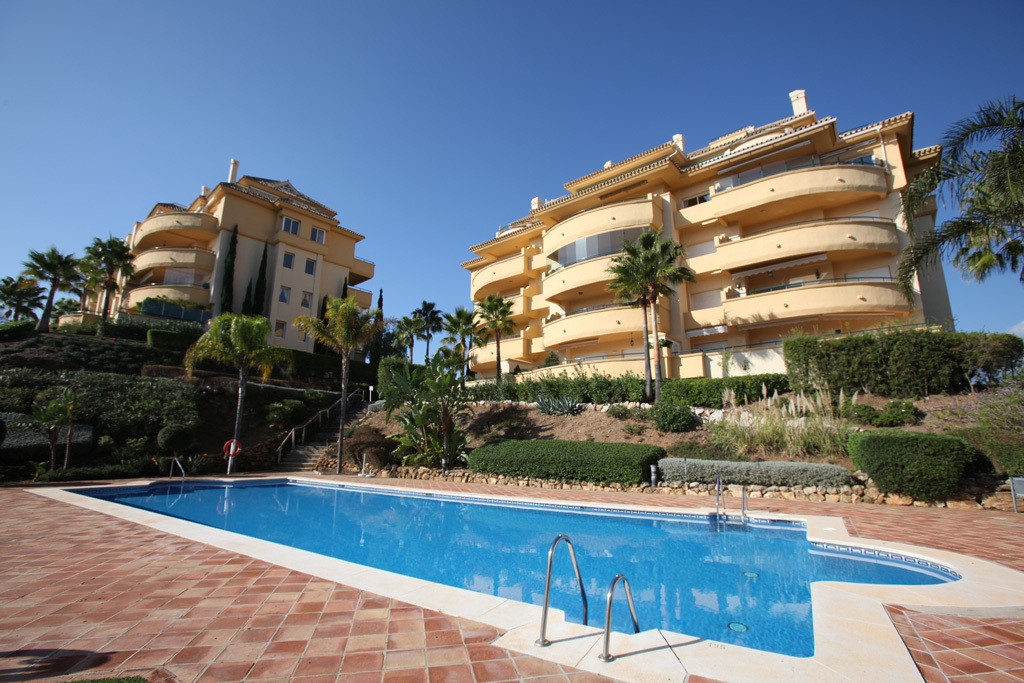 This luxury corner high floor property is wonderfully located in a very sought after area in Marbell, Spain
