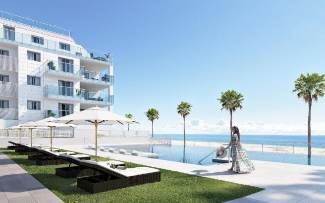 Front line Torrox Costa. New contemporary development of 2, 3 or 4 bedroom apartments with large ter, Spain