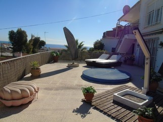 Great independent Villa in Benajarafe with wonderful sea views, in a quiet area and only 10 minutes , Spain