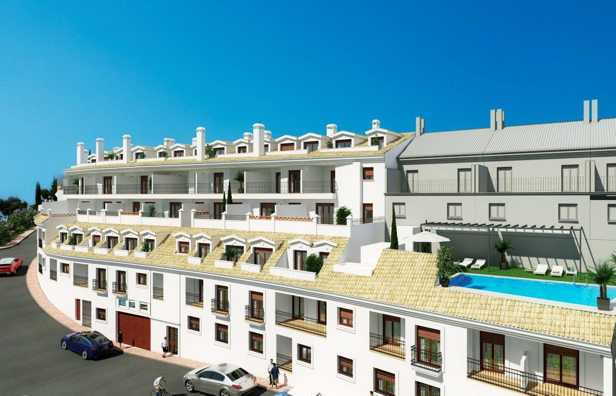 OFF PLAN BEAUTY IN BENALMADENA PUEBLO.  Brand new development designed to be in keeping with the sty,Spain