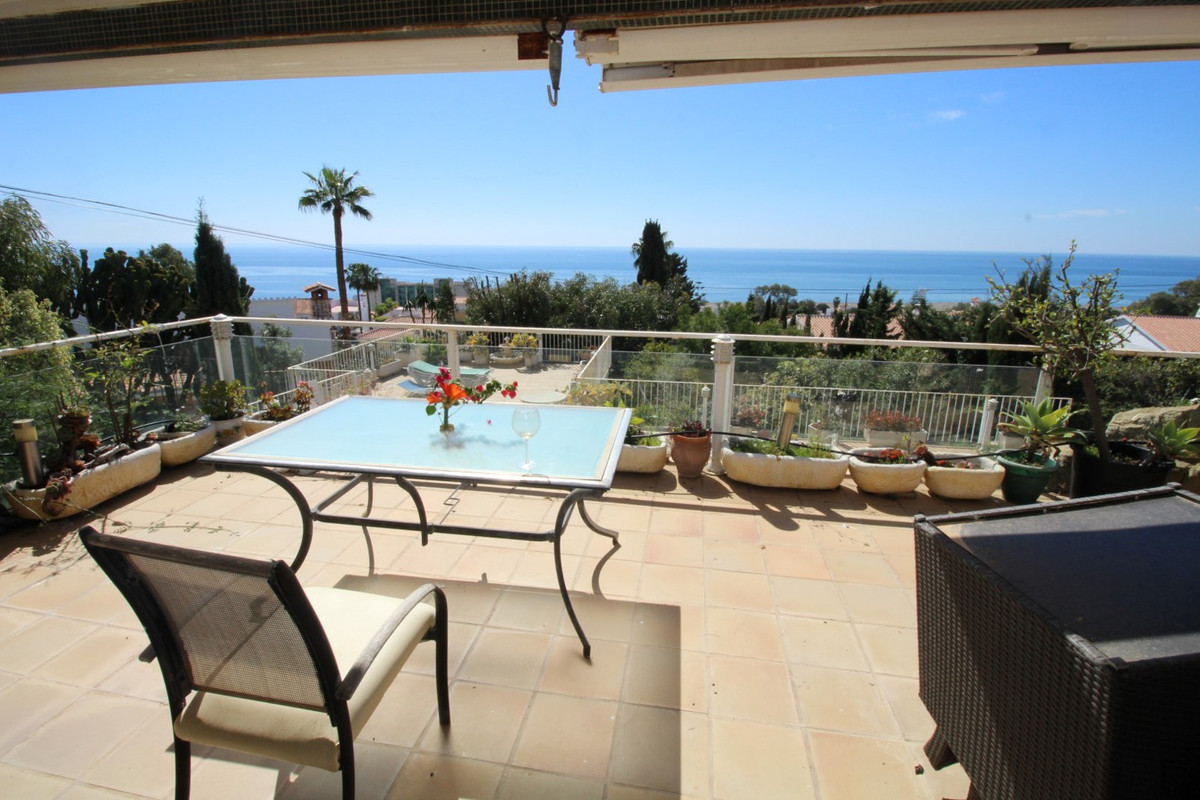 Beautiful Villa in Benajarafe with spectacular views to the sea. The villa is divided into a main ho, Spain