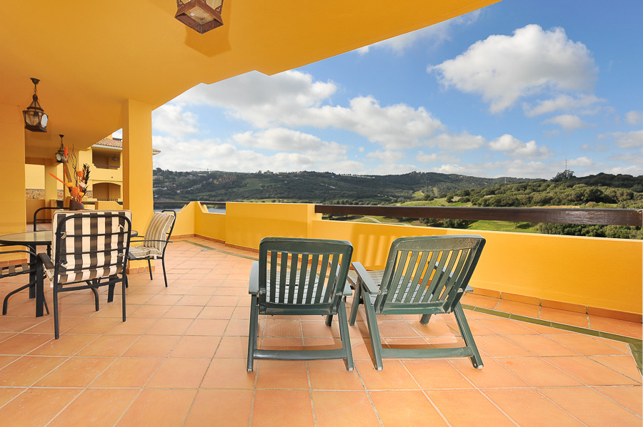Fabulous front line golf apartment situated in a very sought after gated community in Sotogrande Gol,Spain