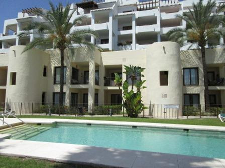 A very large corner apartment situated in one of the best urbanisations on Mijas Golf.  It has beaut,Spain