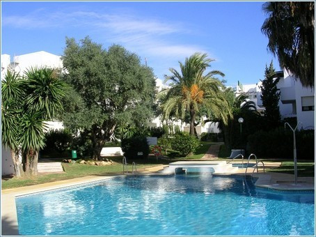 A larger than usual 2 bed, 2 bath ground floor apartment, which also benefits from having a covered,, Spain