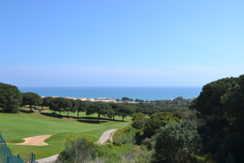 Plot in Cabopina with 180 º sea and golf views. Anything Buildin in front and bordering the golf cou,Spain