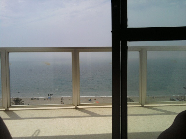 Great 2 bed top floor apartment with panoramic sea and beach views located 100 meters from the beach,Spain
