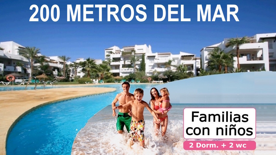 <strong>SPECIAL FAMILIES - 200 meters from the sea</strong>  Perfect apartment complex f,Spain