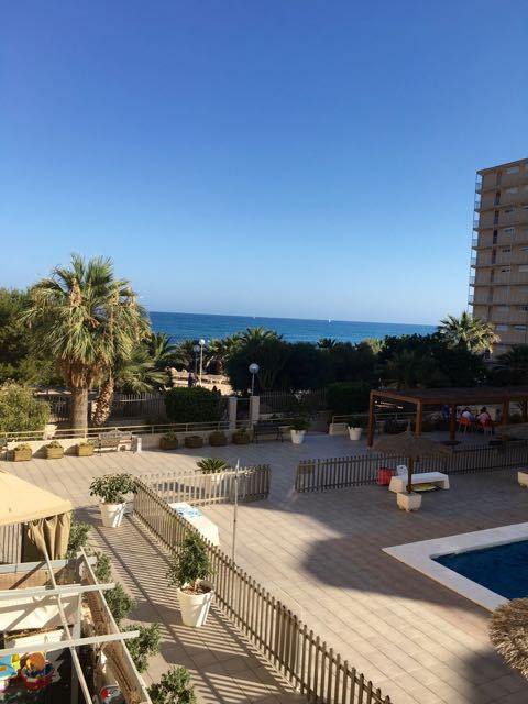 Modern apartment on the sea front and next to the sandy beaches of El Campello.  Light and airy apar,Spain