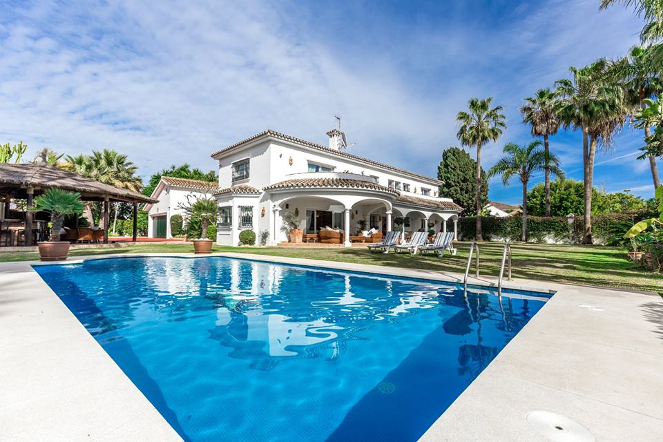 ELITE VILLA CLOSE TO THE SEA! FAMOUS AREA GUIDALMINA BAJO NEAR THE VILLA OF THE PRESIDENT OF UKRAINE, Spain