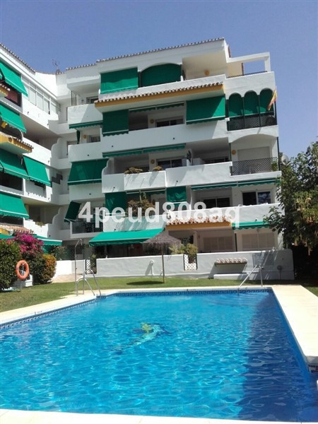 Southwest facing fully furnished beachside apartment overlooking the communal pool & garden with, Spain