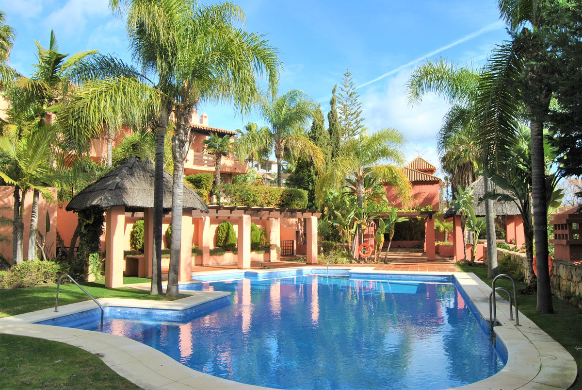 Fabulous townhouse in the heart of Marbella center and a short walk to the beach.  The urbanization ,Spain