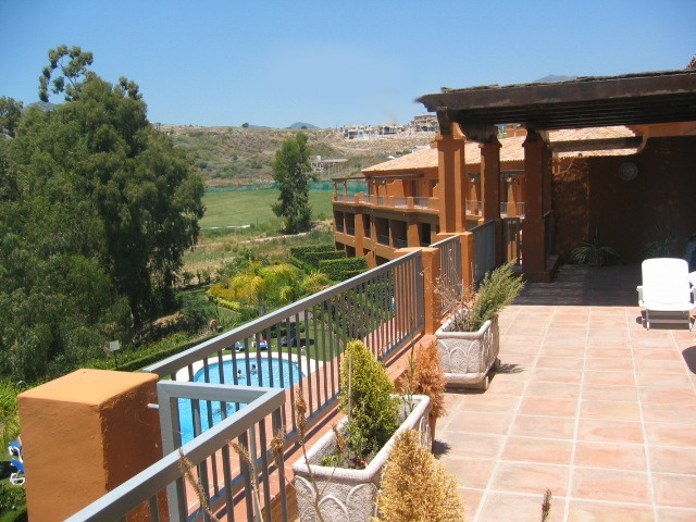 A beautiful frontline golf penthouse overlooking the pool and gardens on this first class developmen, Spain