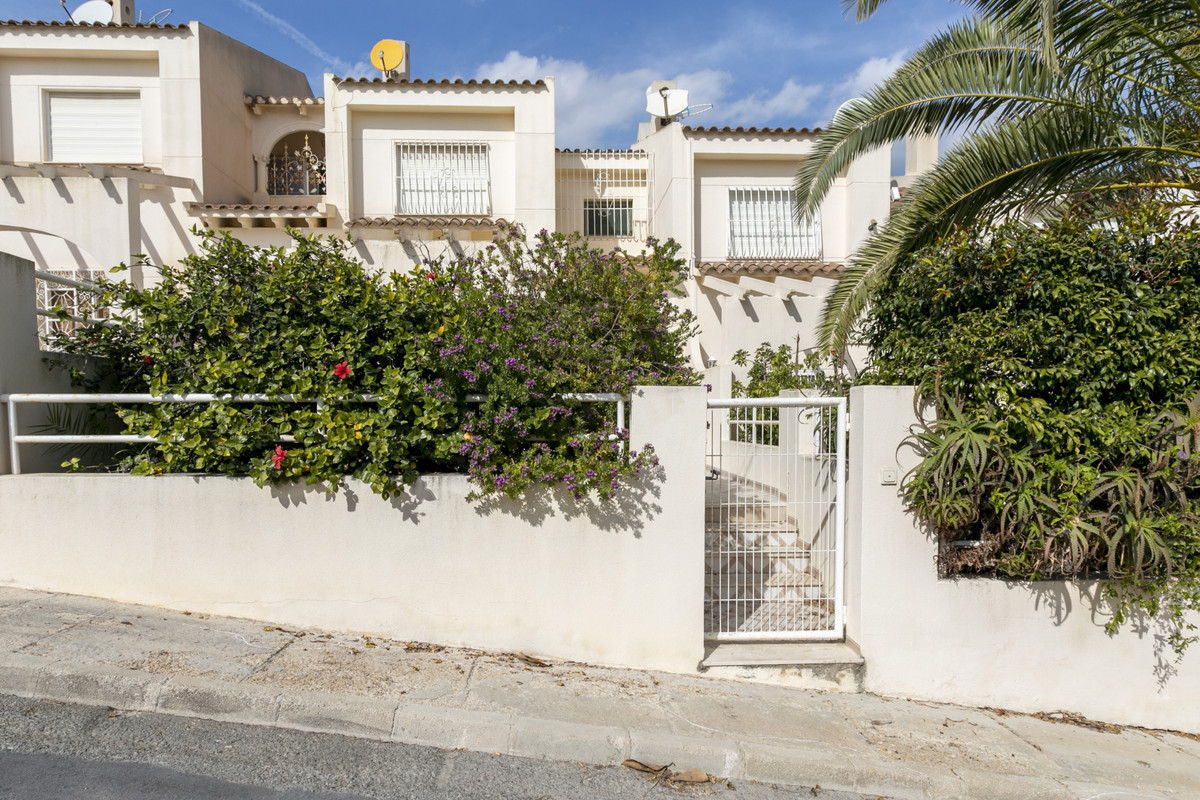 Pristine, sea view, 3 bedroom, attached villa, a short walk from the beach and tram service at El Ca,Spain