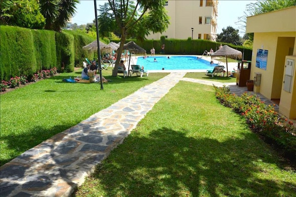 """Superb 1st floor apartment 500 meters from """"La Luna"""" beach.  The property consists of 1 be,Spain"""