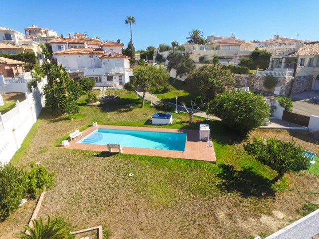 Beautiful Beachfront villa with Spectacular sea views and large gardens and terraces.  It is distrib,Spain