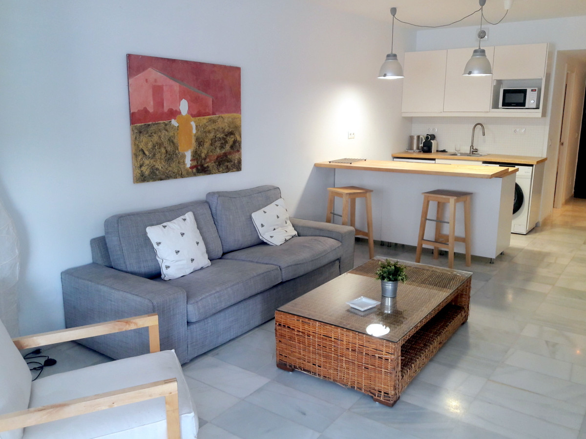 Refurbished 2 bedroom apartment 50m from the beach situated in Puerto Banus  This property is locate,Spain