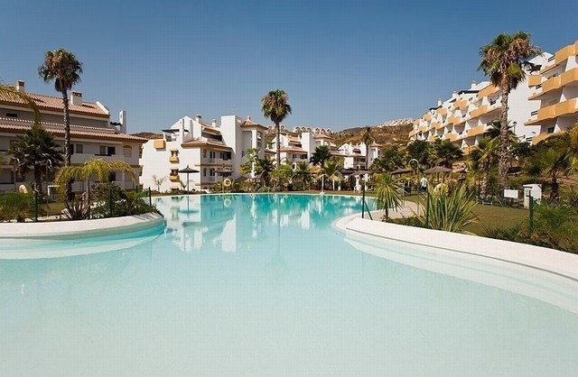 Apartment with views to the sea and GOLF, located in the upper area of the village of La Cala de Mij, Spain