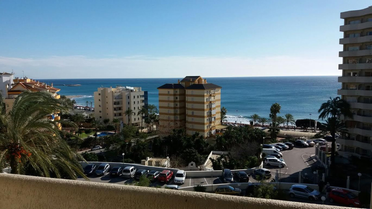 FANTASTIC STUDIO  WITH WONDERFUL SEA VIEWS located in Benalmadena Costa, . Front line beach complex., Spain