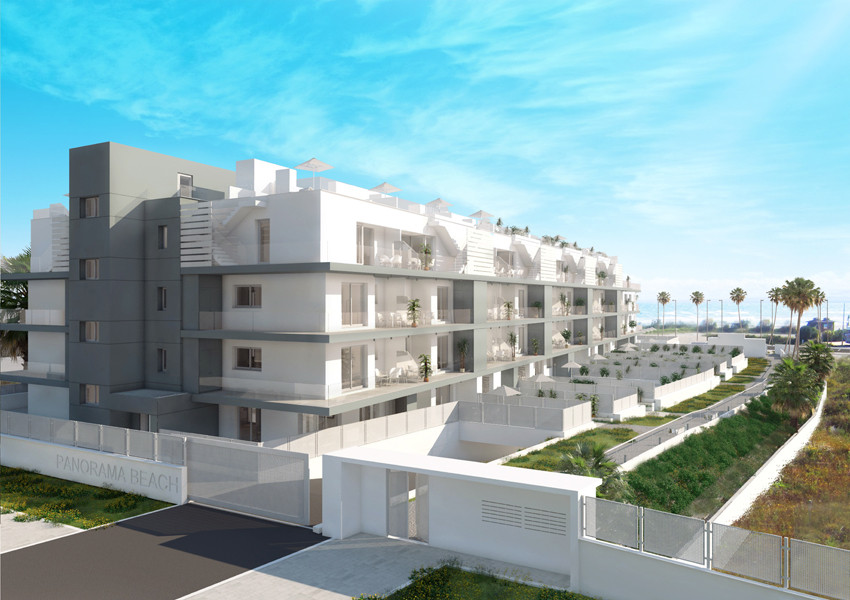 FRONT LINE MODERN BEACH APARTMENTS FROM 125,000€..............  Panorama Beach is a brand new beachf,Spain