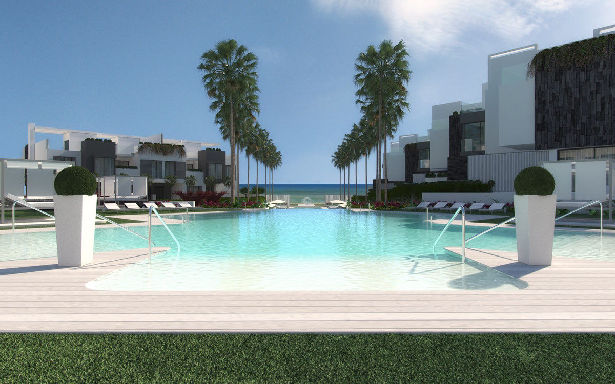 BRAND NEW FRONTLINE BEACH TOWNHOUSE  State-of-the-art townhouse with sea views.  The townhouse featu,Spain