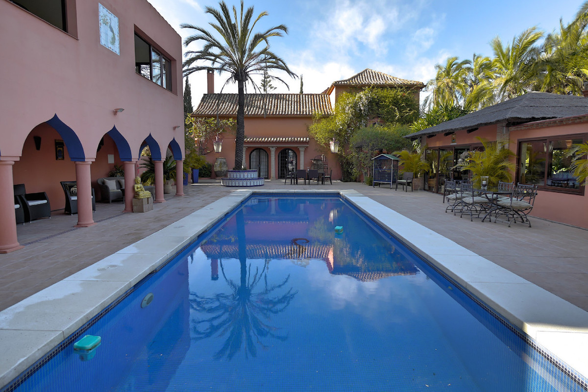 This luxury country estate is situated only minutes away from the beach and town centre of Estepona., Spain