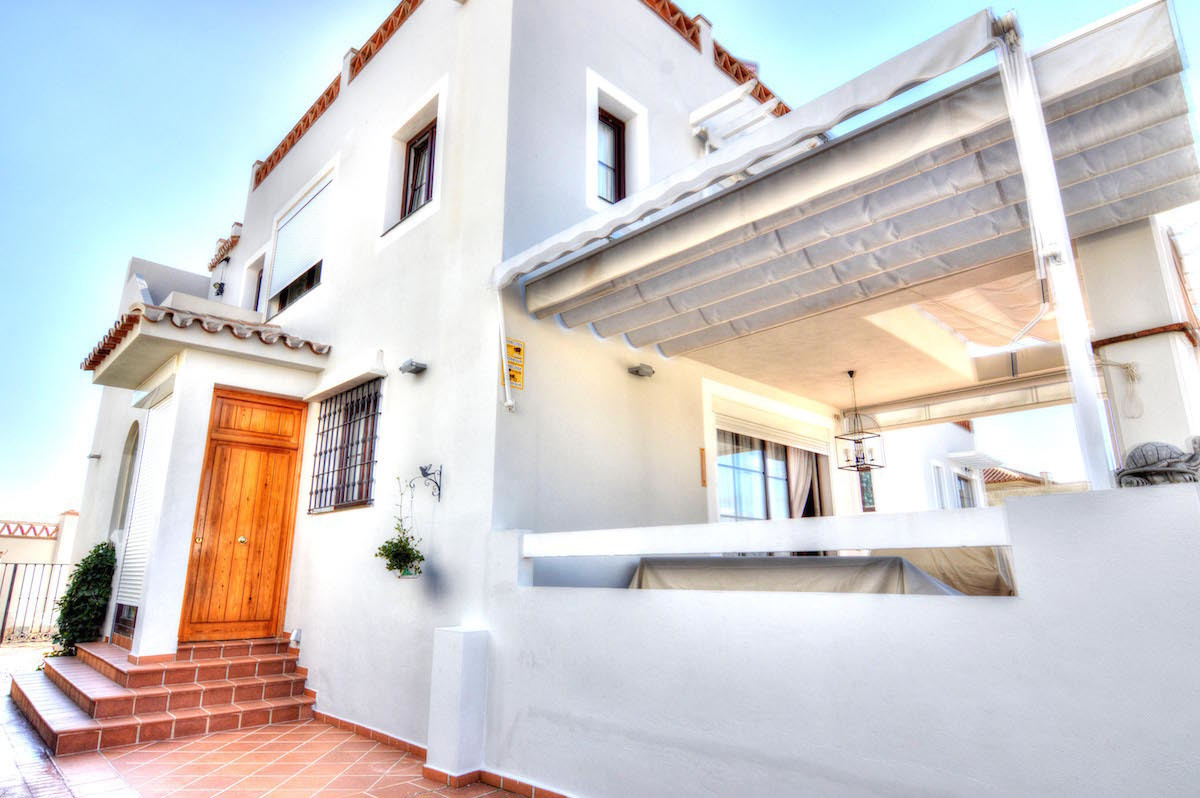 Nice Villa with fantastic views to the sea and mountains, which is divided on three floors. On the e,Spain