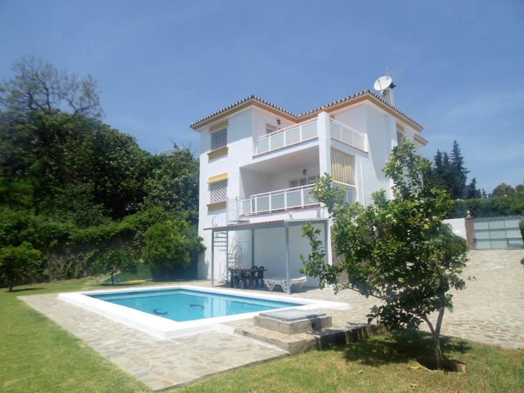 Detached Villa, Campo Mijas, Costa del Sol. 5 Bedrooms, 3 Bathrooms, Built 300 m², Terrace 36 m², Ga,Spain