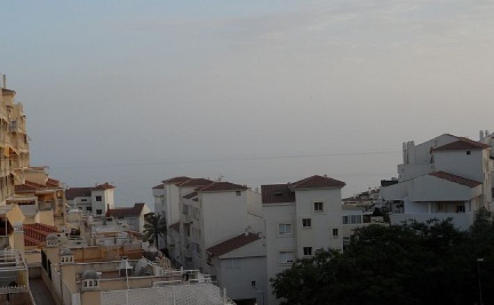 Apartment in Benalmadena Costa. Distributed 75m2 with 2 bedrooms, 1 bathroom, living room, fitted ki,Spain