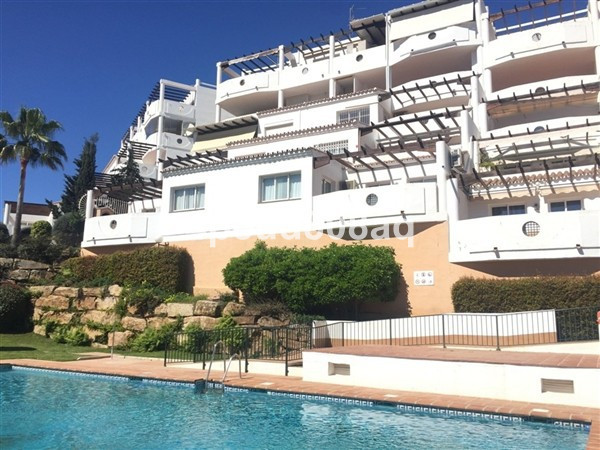 Southwest facing fully furnished penthouse apartment located in Flores de Riviera, a gated developme, Spain