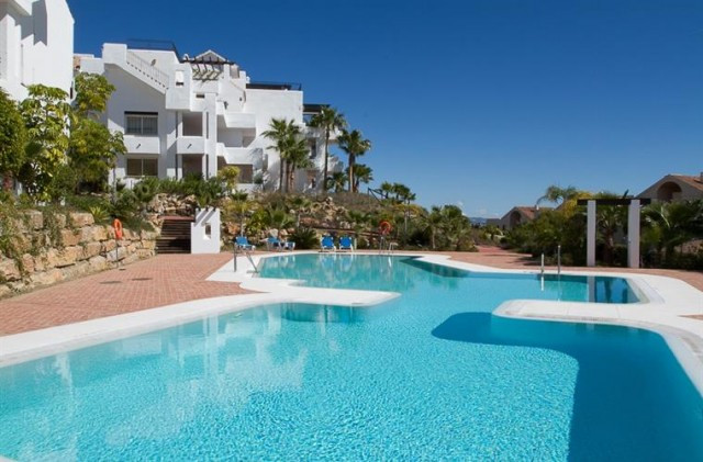 EXCLUSIVE  APARTMENT IN BENAHAVIS AREA  Lovely to bedrooms first floor apartment, located in one of , Spain